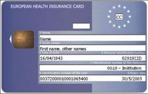 Cartão Europeu de Saúde