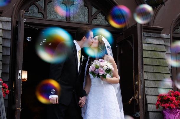 Ideias para Casamentos Originais - bolas sabão