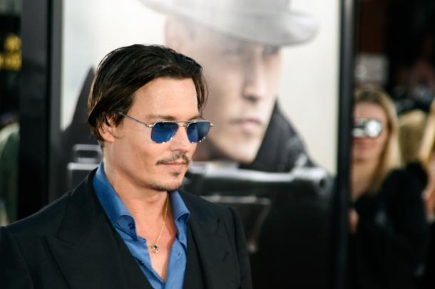 Johnny Depp - 10 homens mais bonitos do mundo