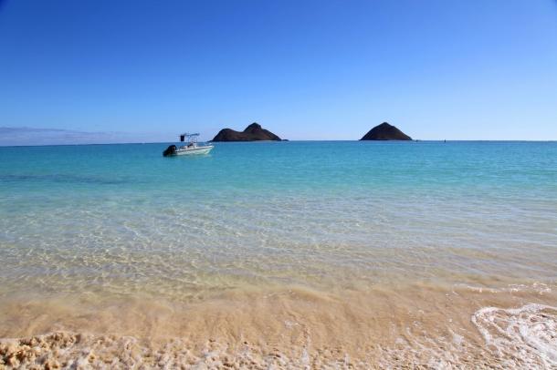 Lanikai Beach - 10 Praias que Deve Conhecer