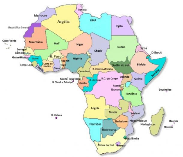 quantos paises tem a africa