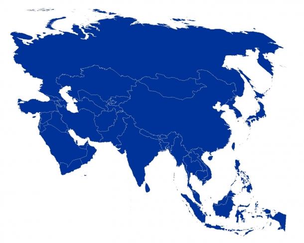 quantos paises tem a asia?